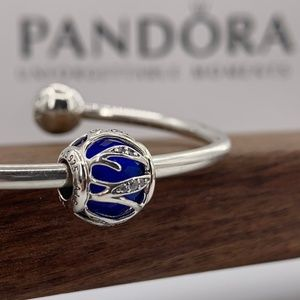 Pandora Royal Blue Galaxy Item #791969NCB